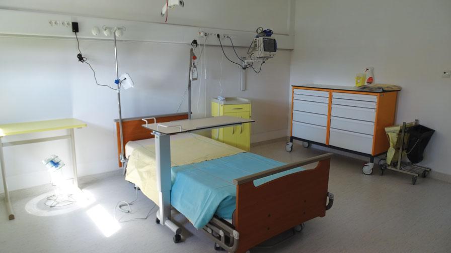 Nouvelle unité de rééducation post-réanimation adultes, hôpital Raymond-Poincaré - 294 354 €