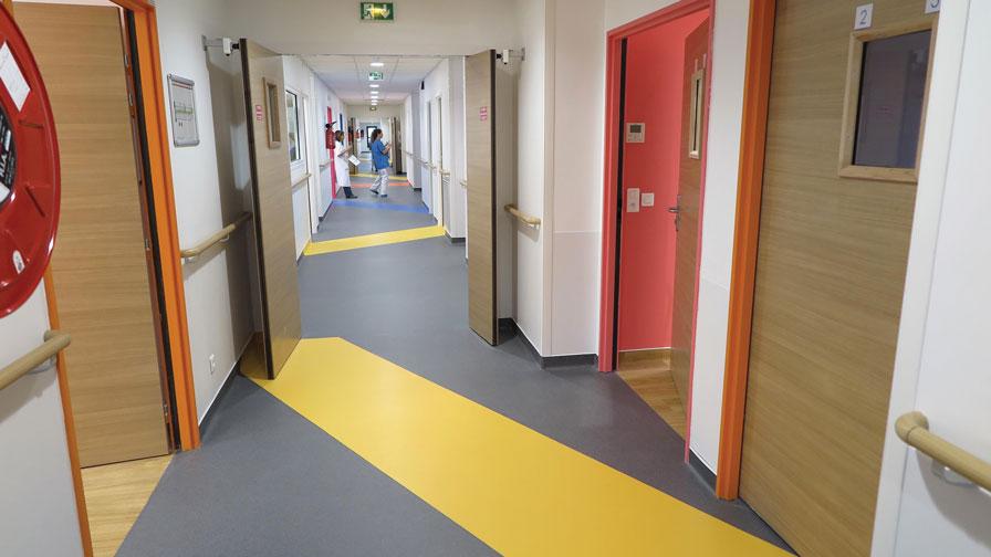 Rénovation de l'hospitalisation en chirurgie, hôpital Robert Debré - 2,78 M€