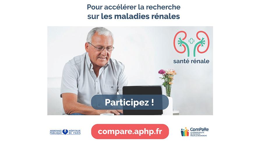 ComPaRe Projet de recherche sur les maladies rénales