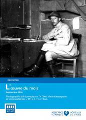 L'oeuvre du mois, Clovis Vincent, 1914-1918