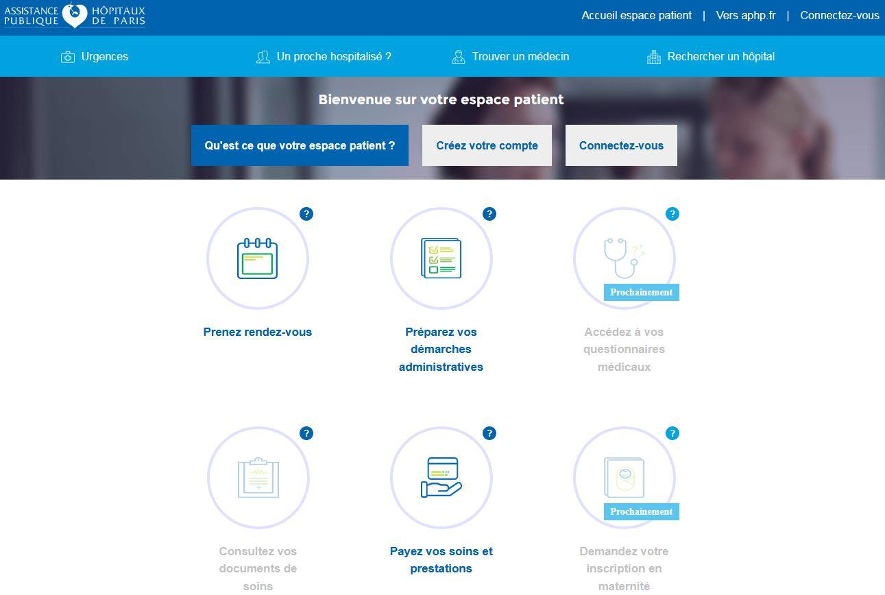 Transformation numérique : l'AP-HP s'engage pour la réussite du Dossier Médical Partagé et ouvre un « espace patient » en ligne sécurisé, accessible depuis www.aphp.fr
