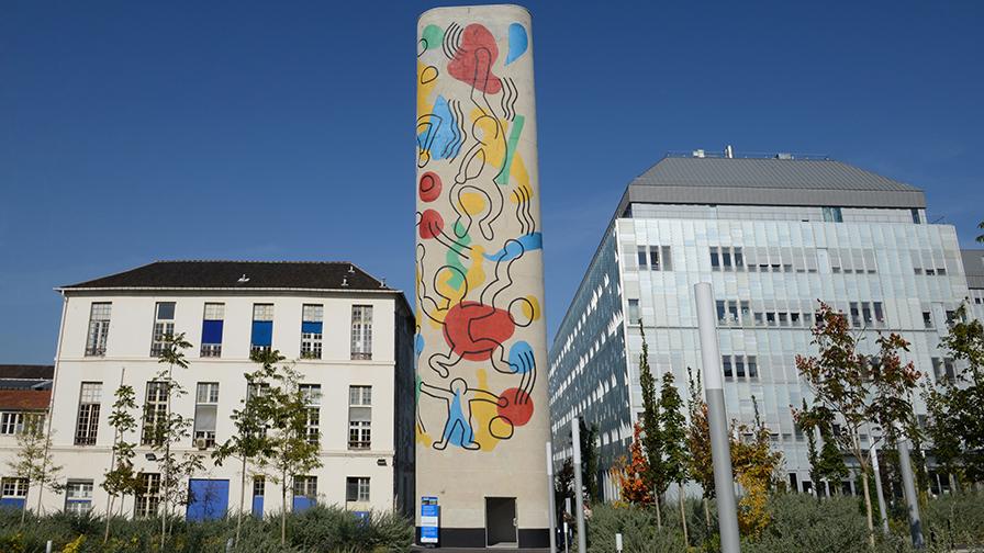 Hôpital Necker - Enfants Malades AP-HP - tour Keith Haring