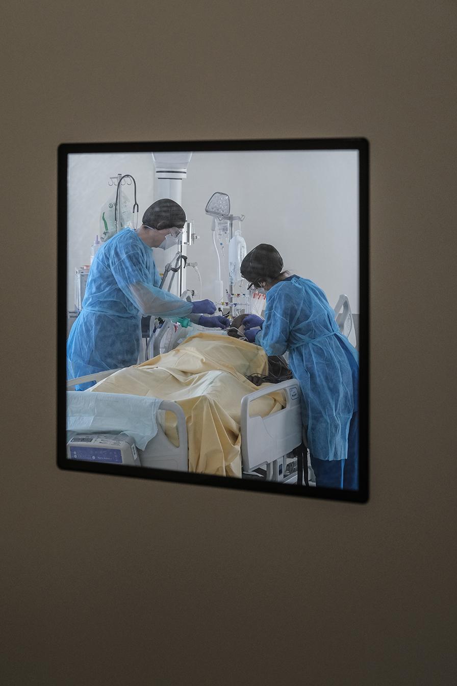 Sur le front du COVID-19 à l'hôpital Henri Mondor AP-HP