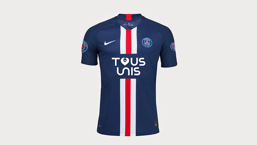 Covid-19 : Maillot PSG Tous unis
