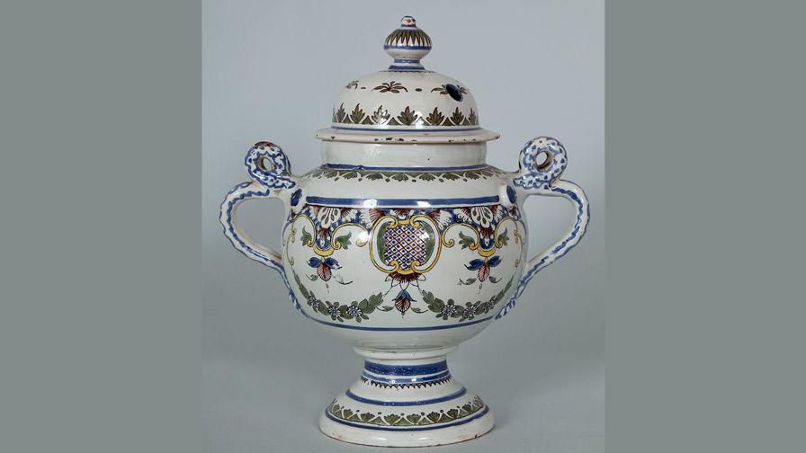 Vase à thériaque, XVIIIe