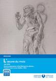 Oeuvre du mois - Dessin Pinel libérant les aliénés, XIXe, Charles Müller