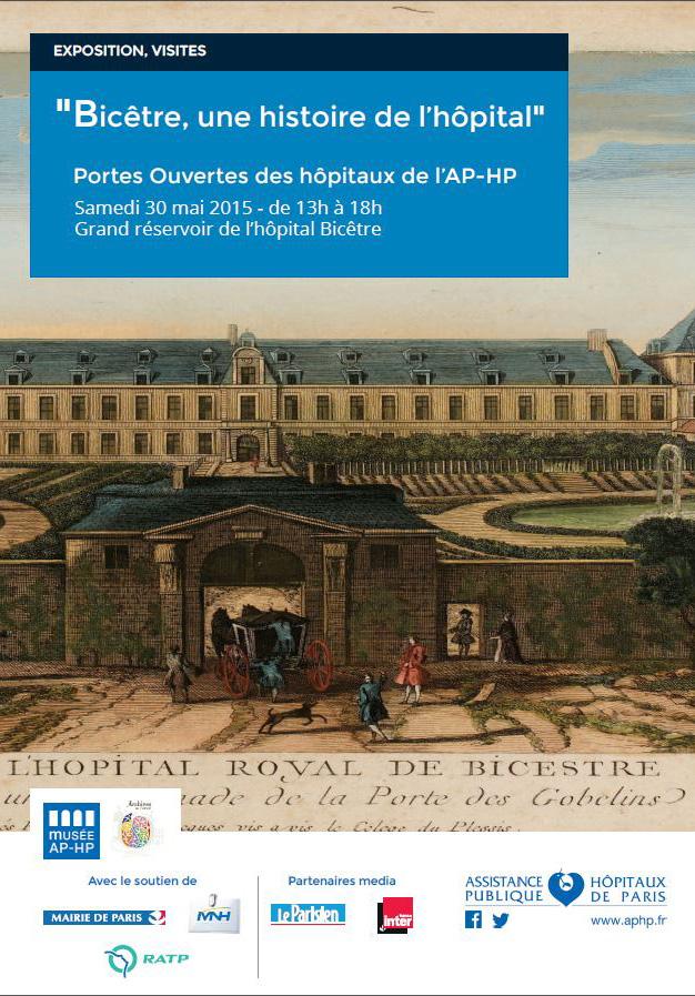 Affiche - Expo - Bicêtre, une histoire de l'hôpital - Musée APHP