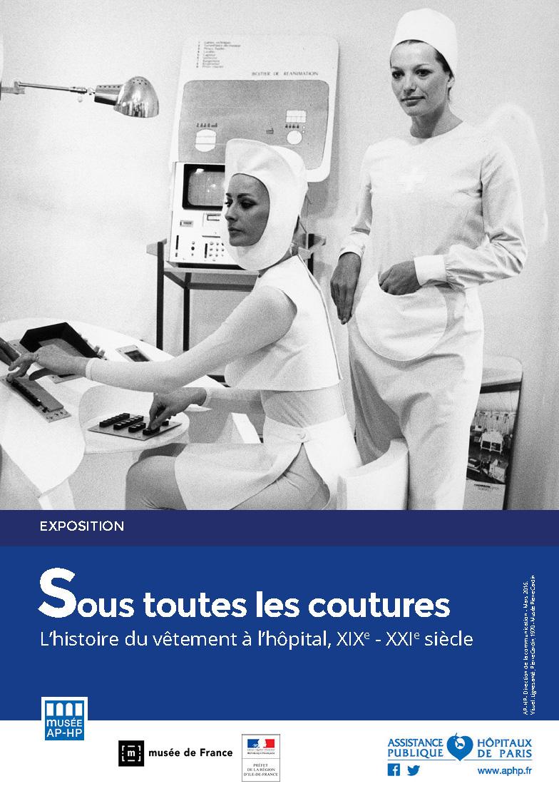 Affiche - Expo - Sous toutes les coutures - Musée APHP