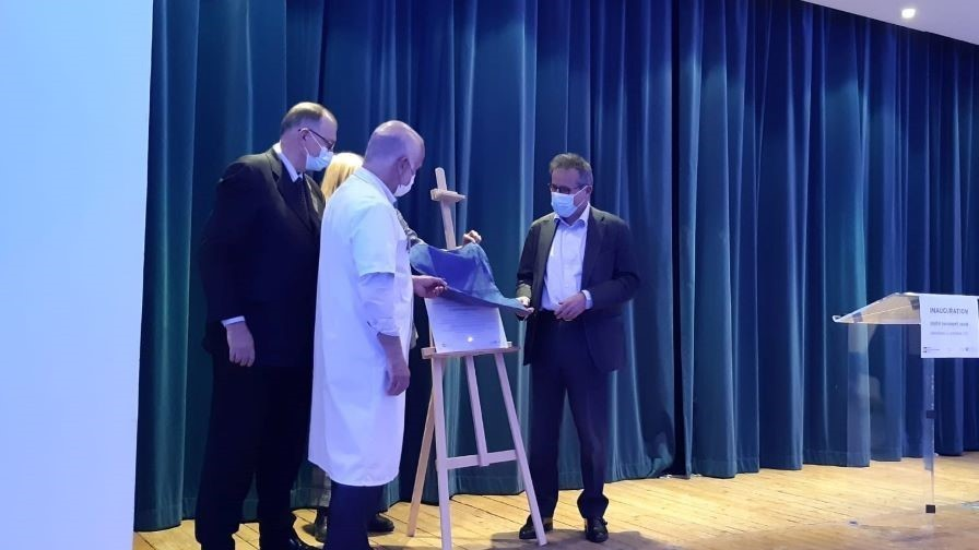 Inauguration de l'unité parasport santé à l'hôpital Raymond-Poincaré AP-HP
