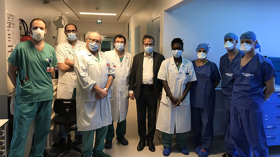 Renfort Hôpital Louis Mourier