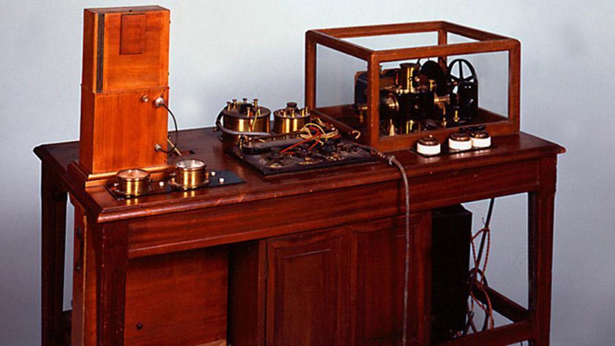 Electrocardiographe à corde d'Einthoven, vers 1920