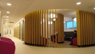 Plateforme de chimiothérapie du pôle cancérologie et spécialités, hôpital européen Georges-Pompidou - 3,3M€