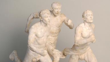 La course de Paul Richer, fin XIX siècle
