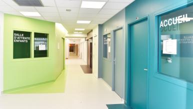 Première phase du centre ambulatoire pédiatrique, hôpital Necker-Enfants malades - 1,23M€