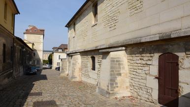 Rue pavée ancienne, hôpital Bicêtre