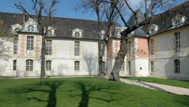 Cour carré, partie ancienne de l'hôpital Saint-Louis