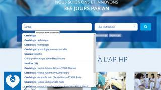 Nouveau moteur de recherche sur aphp.fr