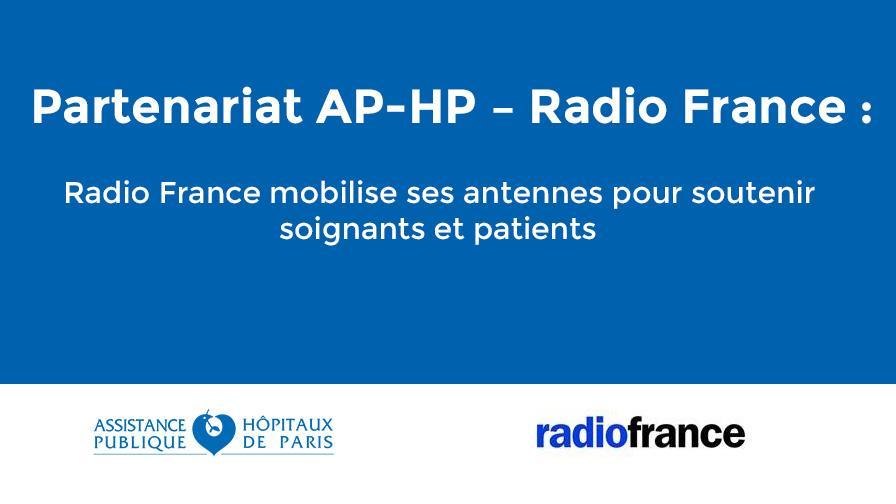 COVID-19 : Partenariat AP-HP Radio France