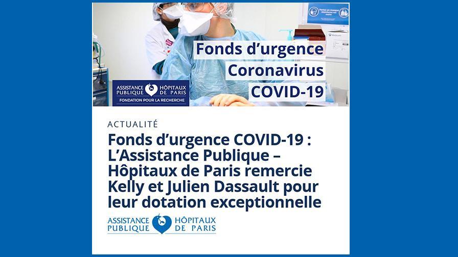 Fonds d'urgence Coronavirus Covid-19