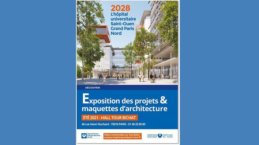 expo hôpital universitaire saint ouen grand paris nord