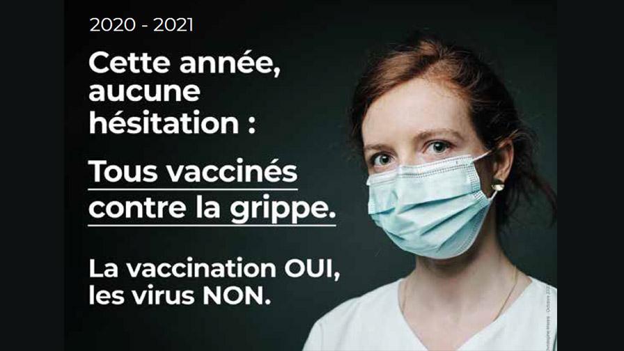 Campagne de promotion du vaccin de la grippe auprès des professionnels de l'AP-HP