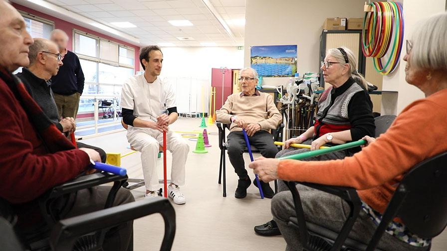 Hôpital de jour Bretonneau groupe Parkison