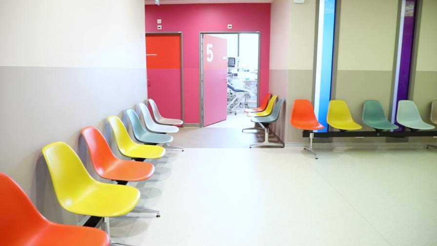 locaux du service de chirurgie et cancérologie gynécologique et mammaire de l'hôpital Pitié-Salpêtrière AP-HP
