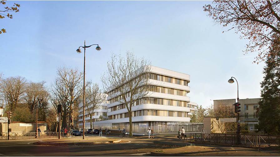 Hôpitail Sainte-Périne : un nouveau bâtiment