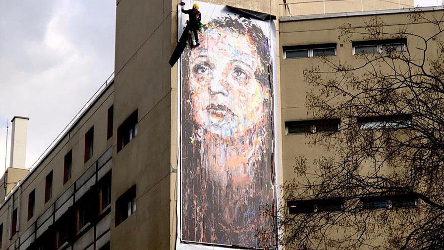 """""""Édith Piaf"""" de l'artiste HOM NGUYEN"""