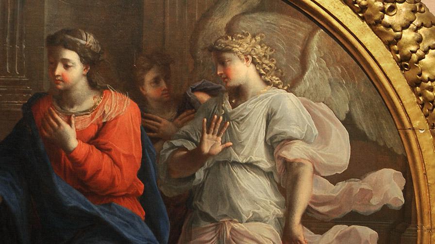 La visitation, 17e, N. Coypel