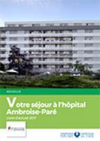 Livret d'accueil Ambroise-Paré