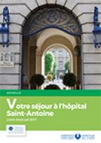 Livret d'accueil patient hospitalisé Saint-Antoine