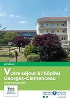 Couverture livret Georges-Clémenceau