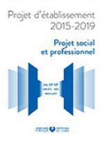 Projet social et professionnel 2015-2019