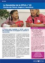Newsletter de la Direction des Patients, Usagers et Associations, n°19, mai 2016