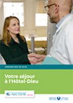 Livret d'accueil patient hospitalisé Hôtel-Dieu