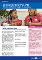 Newsletter de la Direction des Patients, Usagers et Associations, n°13, novembre 2015