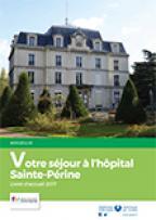 Livret d'accueil patient hospitalisé Sainte-Périne