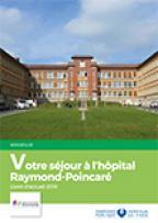 Livret d'accueil patient hospitalisé Raymond-Poincaré