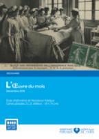 Oeuvre du mois - Cartes postales, Ecole d'infirmières, 1907, hôpital Salpêtrière
