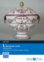 Oeuvre du mois, Pot de pharmacie «Collection Beaujon», XVIIIe siècle