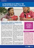 Newsletter de la Direction des Patients, Usagers et Associations, n°25, décembre 2016