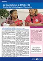Newsletter de la Direction des Patients, Usagers et Associations, n°26, janvier 2017
