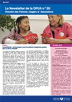 Newsletter de la Direction des Patients, Usagers et Associations, n°30 mai 2017