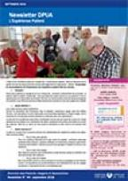 Newsletter de la Direction des Patients, Usagers et Associations, n°44 septembre 2018