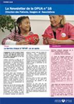 Newsletter de la Direction des Patients, Usagers et Associations, n°16, février 2016