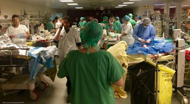 Hôpital Saint-Louis, salle de réveil – nuit du 13 au 14 novembre 2015