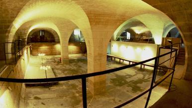 Grand réservoir d'eau, 1733, hôpital Bicêtre