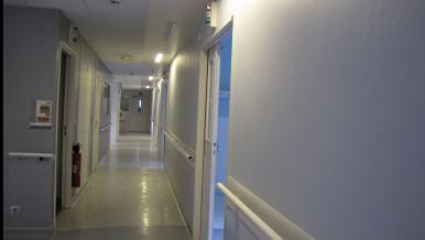 Un couloir, Hôtel-Dieu