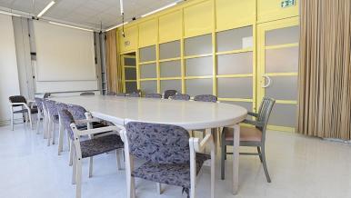 Une salle de réunion, hôpital Necker
